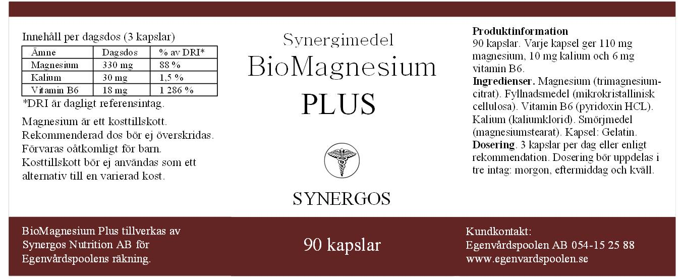 synergos bio magnesium